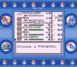 Pokemon Blue - KOOL KADABRA! - User Screenshot